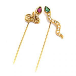 Snake pins